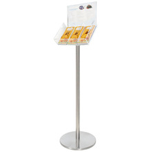 3 DL Freestanding Brochure Holder