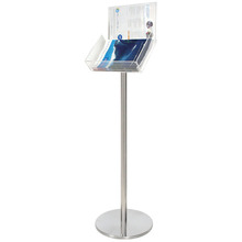 A4 Landscape Freestanding Brochure Holder