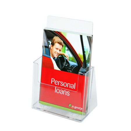 A5 Brochure Holder Counter Single Tier