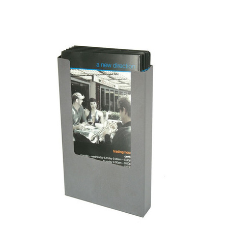 DL Steel Wall Brochure Holder