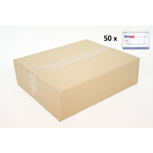 CARTON of 50 Desktop Landscape Business Card Holder