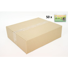 CARTON of 50 Wall Flat Back Landscape Business Card Holder