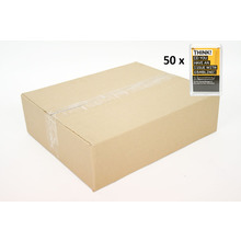 CARTON of 50 Clip On Portrait Business Card Holder