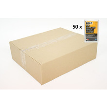 CARTON of 50 Wall Flat Back Portrait Business Card Holder