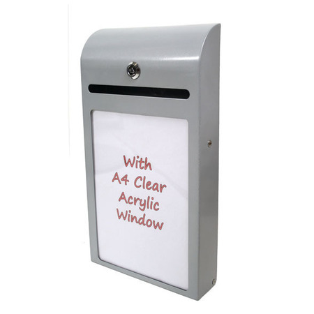 Suggestion Box Amp Donation Box Raffle Barrel Display Me