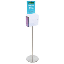 Premium Acrylic Clear Freestanding Suggestion Box A4 + DL Side