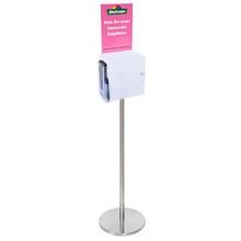 Premium Acrylic Clear Freestanding Suggestion Box A4 Side Combo
