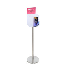 Premium Acrylic Clear Freestanding Suggestion Box A5 Combo