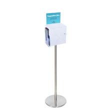 Premium Acrylic Clear Freestanding Suggestion Box A5 Side Combo