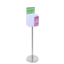 Premium Acrylic Frosted Freestanding Suggestion Box A5 + DL