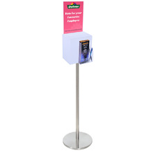 Premium Acrylic Frosted Freestanding Suggestion Box A4 Combo