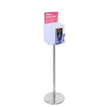 Premium Acrylic Frosted Freestanding Suggestion Box A5 Combo