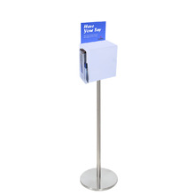 Premium Acrylic Frosted Freestanding Suggestion Box A5 Side Combo