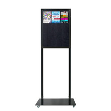 Tall Info Stand - 1 Felt Board Double Sided