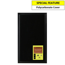 black magnetic 6a4 notice board
