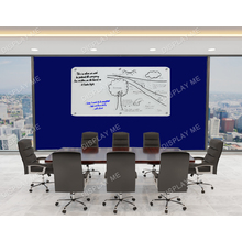 White Glass Board with Fixings 1200x900