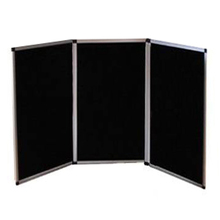 Free Standing Partition Divider - 3 Panel 1.45m High