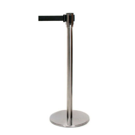 Retractable Barrier Pole and Black Casette
