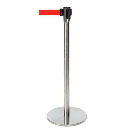 Red Cassette & Retractable Barrier Pole