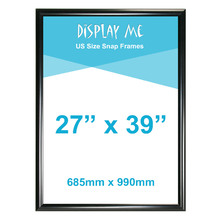 27 x 39 Inch Black Snap Frames MOVIE POSTER
