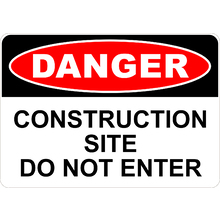 Construction Site Do Not Enter