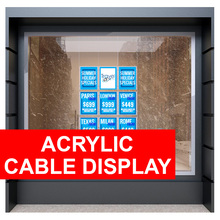 Acrylic Cable Displays