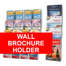 Wall Brochure Holder