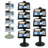 Combo Pole Brochure Stands