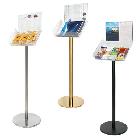 Floor Acrylic Brochure Holder