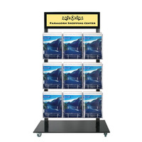 Black Promo Brochure Stands