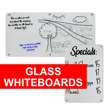 Glass White Boards and Blackboards