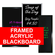 Framed  Menu Blackboard
