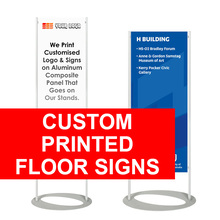 Custom Printed Floor Sign