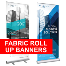 Fabric Roll Up Banners
