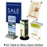 Table and Menu Sign Holders