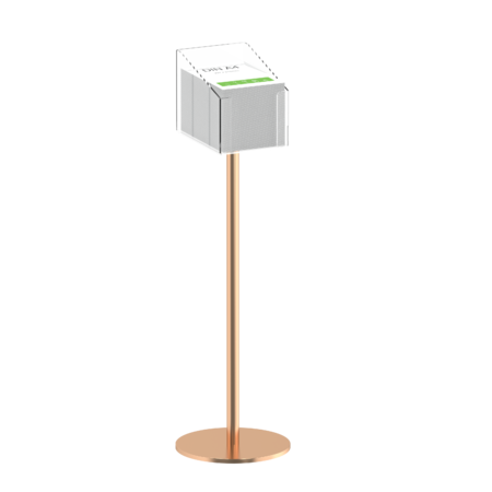Gold Promo Holder Stand