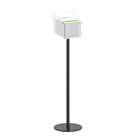 Tall Black Promo Holder Stand