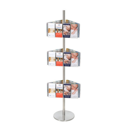 Stainless Steel Carousel Holds 36 DL