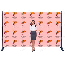 Media Backdrop - Fabric Single Sided W3000 x H2400mm