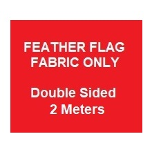 Feather Skin Only -  Double Sided Print Skin Only -  2.0m