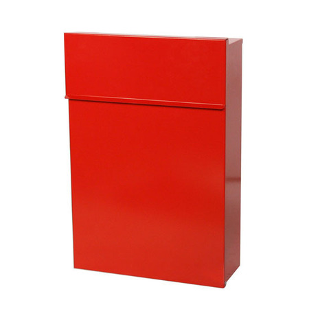Red Lockable Document Drop Box