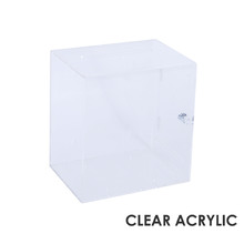 Premium Acrylic Clear Suggestion Box