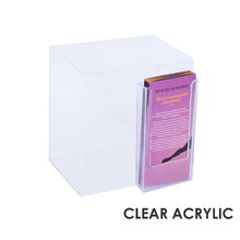 Premium Acrylic Clear Suggestion Box DL