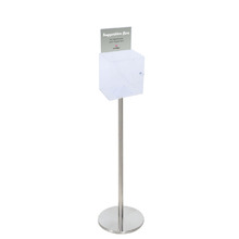 Premium Acrylic Clear Freestanding Suggestion Box A5
