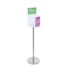 Premium Acrylic Clear Freestanding Suggestion Box A5 + DL