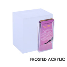 Premium Acrylic Frosted Suggestion Box DL