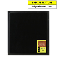 Black Magnetic 12A4 Notice Board