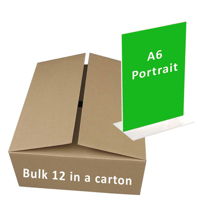 Bulk A6 Portrait Double Sided x 12 ($2.00 per unit)