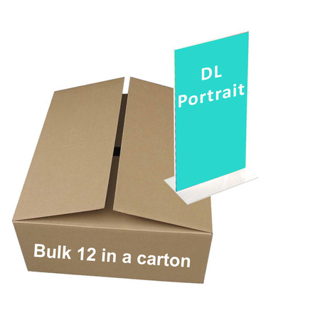 Bulk DL Portrait Double Sided x 10  ($2.80 per unit)