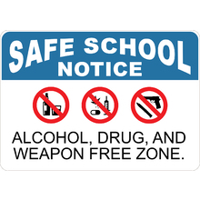 Alcohol Drug and Weapon Free Z